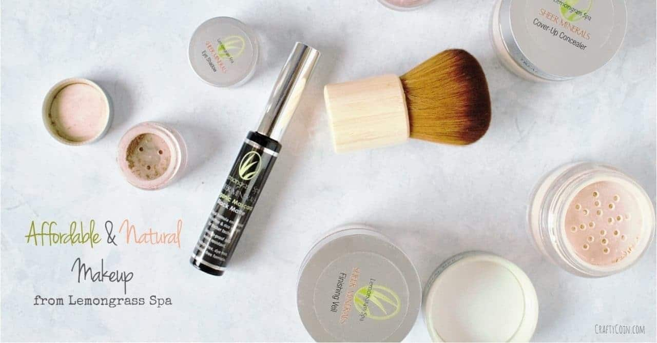Affordable & Natural Makeup from Lemongrass Spa