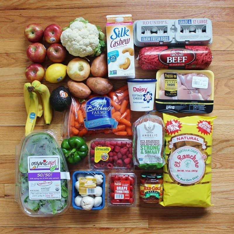 Grocery Haul Week of 4.24.16