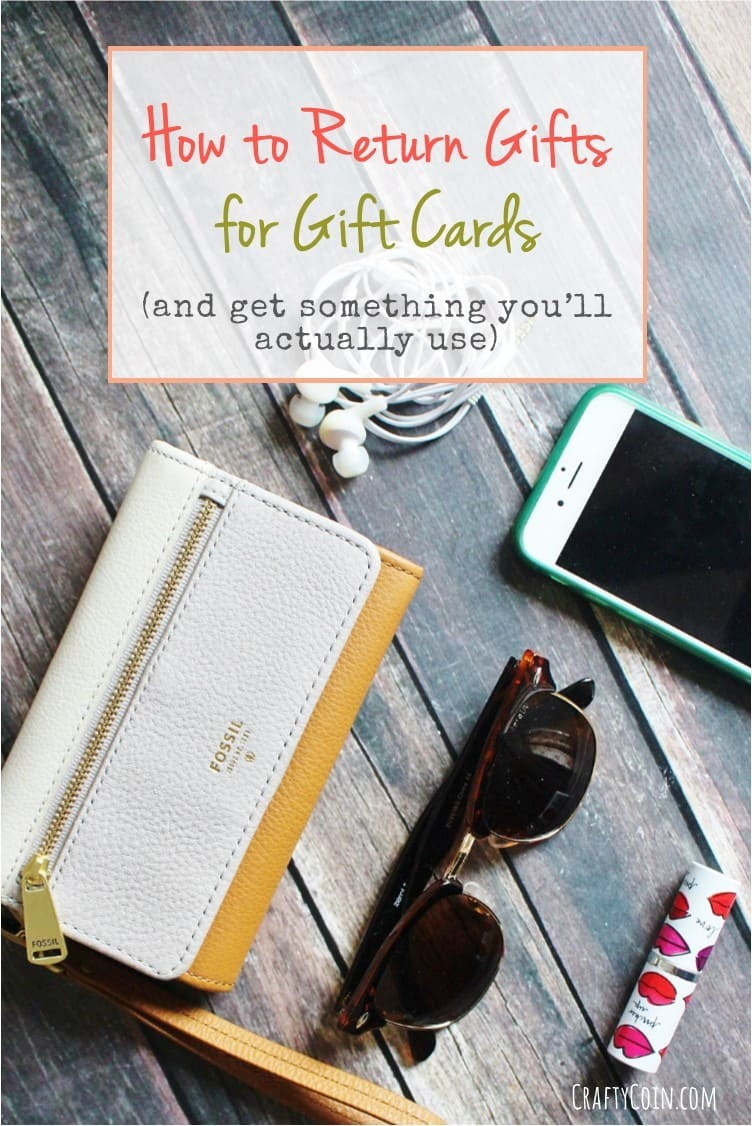 How to Return Gifts for Gift Cards