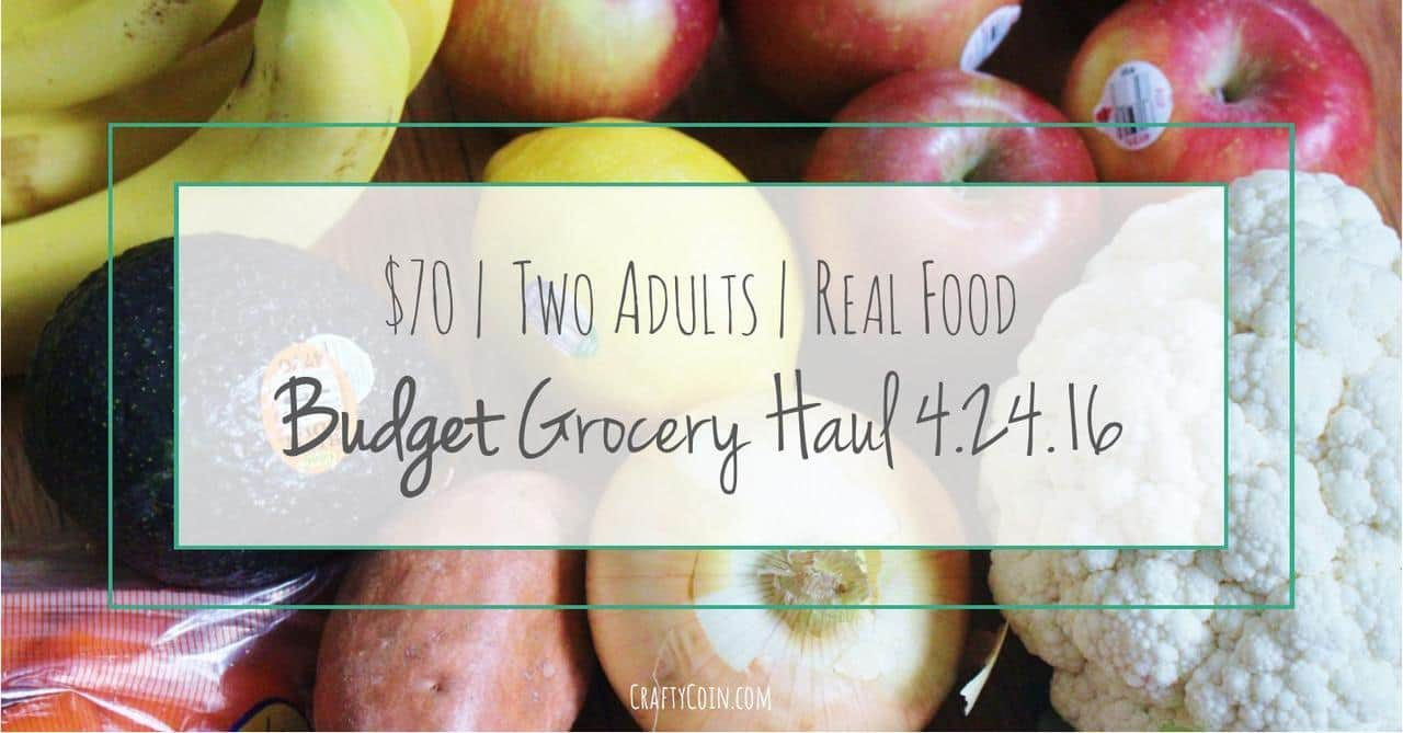 Weekly Grocery Haul 4.24.16