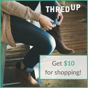 thredUP promo code - get $10 off!