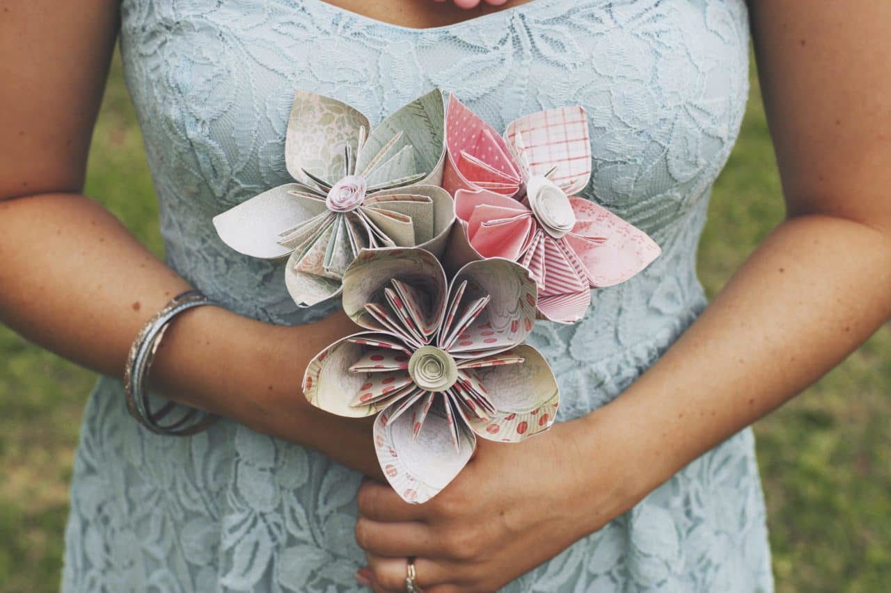 Budget Wedding - Paper Flowers