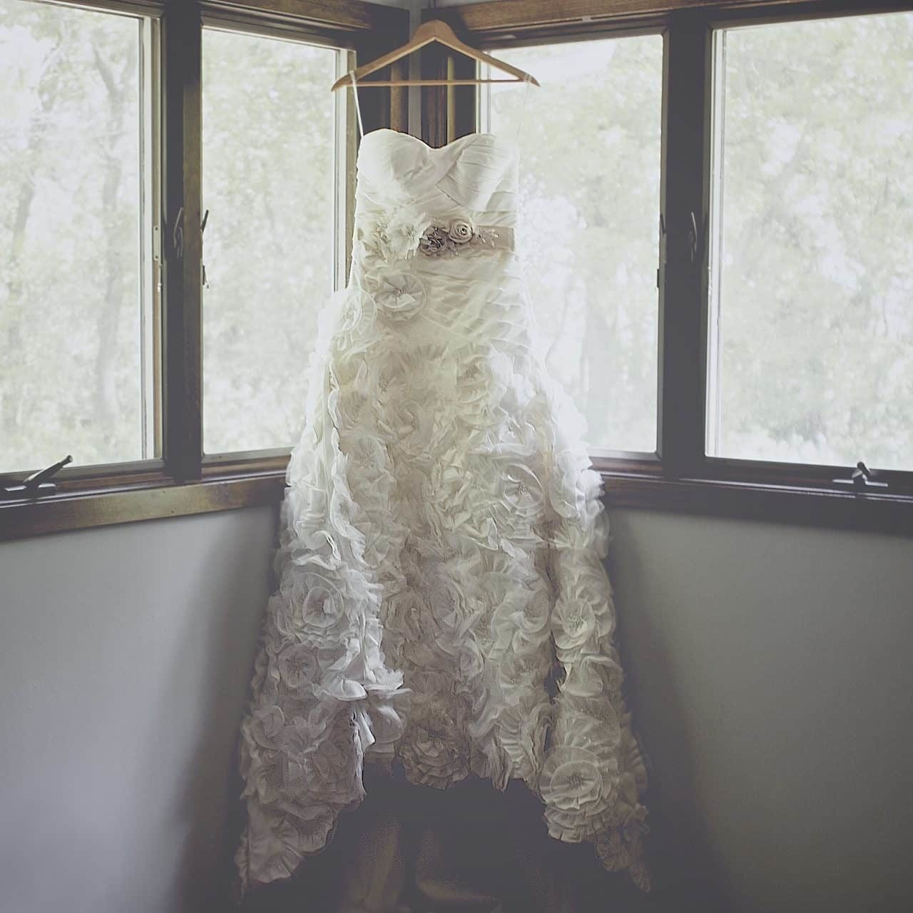 Budget Wedding - Wedding Dress