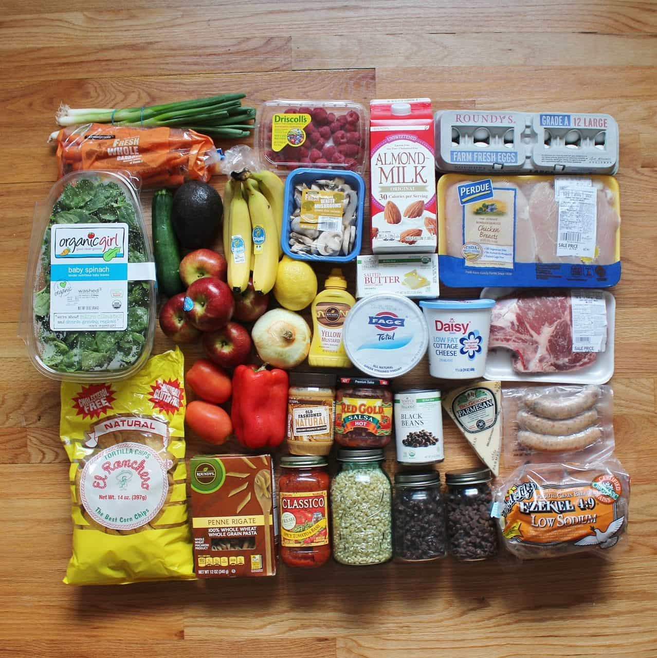 One Month of Budget Grocery Hauls & Meals Plans - May 2016