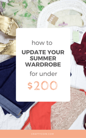If you're looking for some fashion on a budget, get brand names for cheap from thredUP! Here's how I updated my summer closet for under $200.