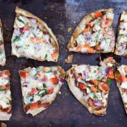 Whole Wheat Pita Pizzas – $1.18 per serving