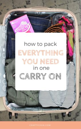 How to Pack Everything You Need in a Carry On
