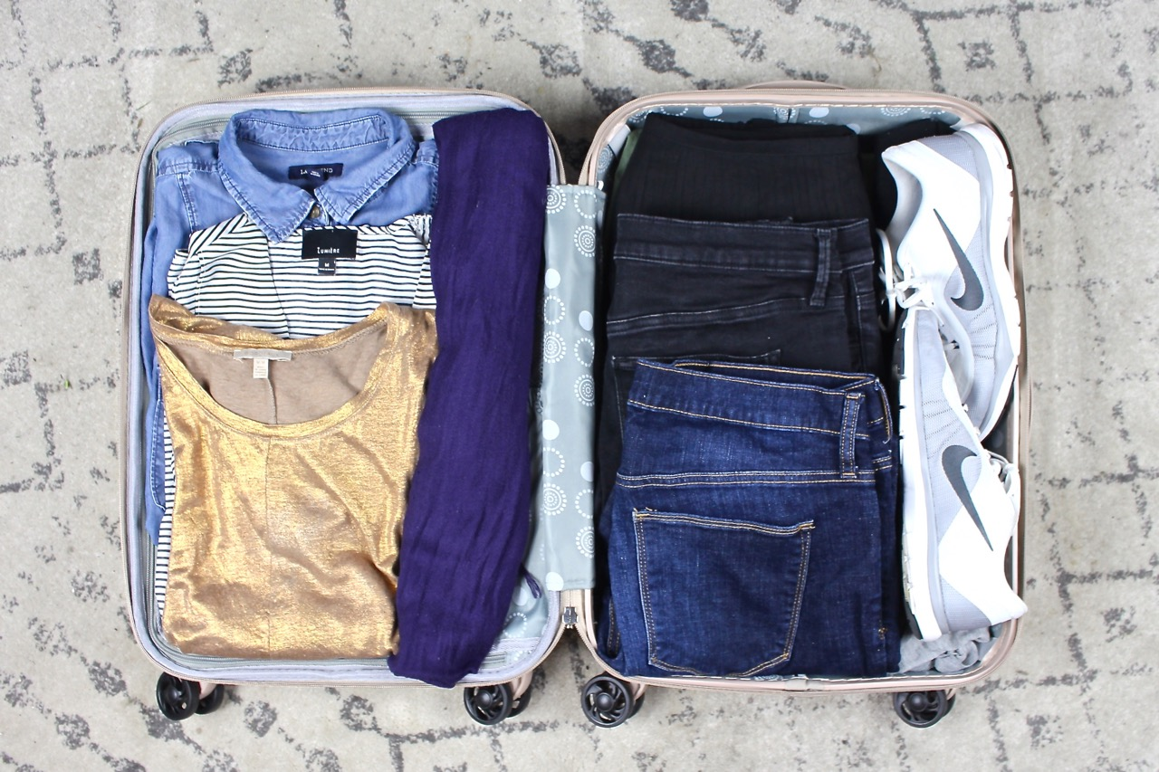 How to Pack in a Carry On Suitcase