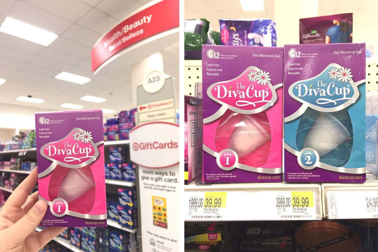 The DivaCup at Target