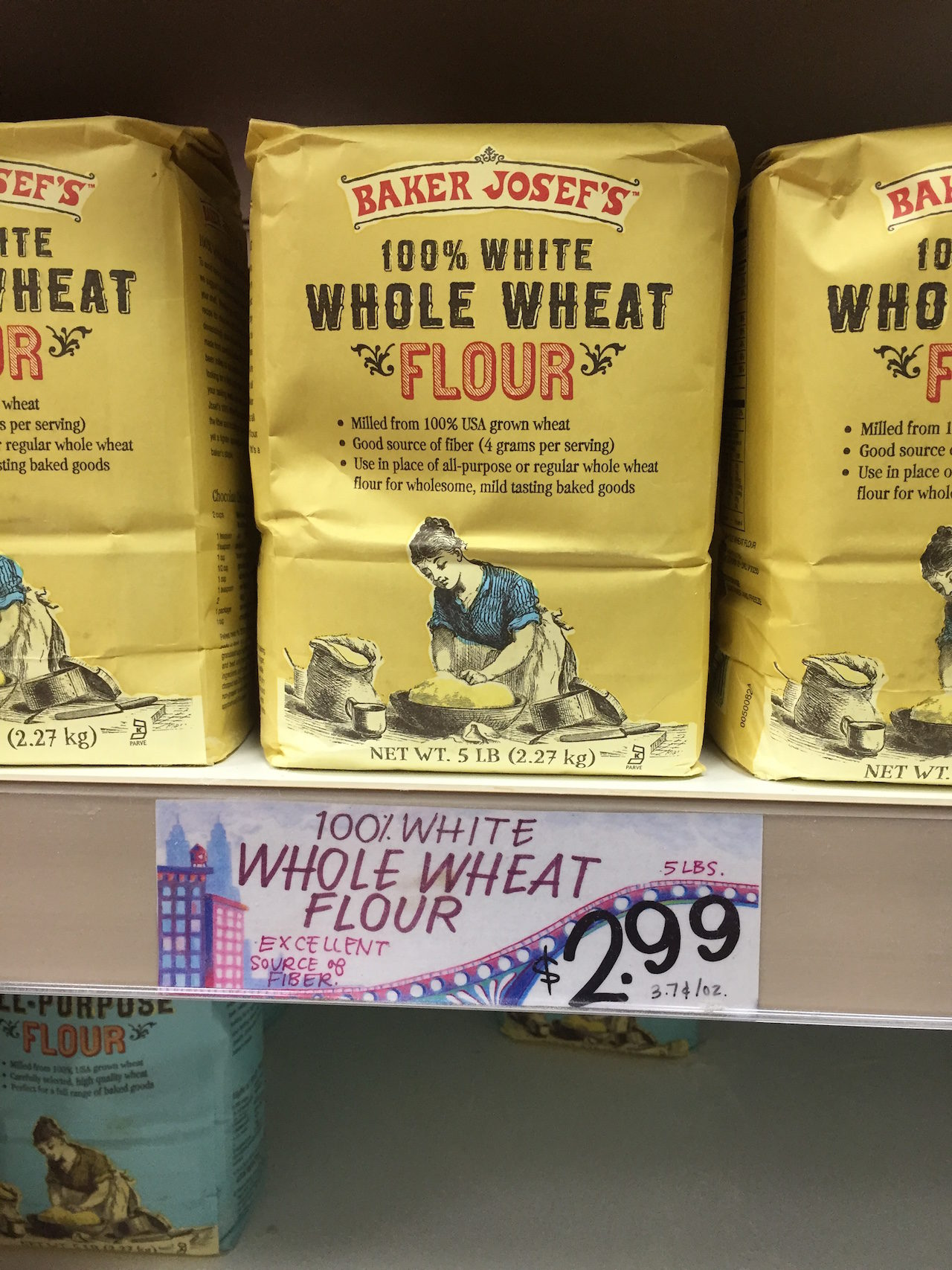 trader joes white whole wheat flour